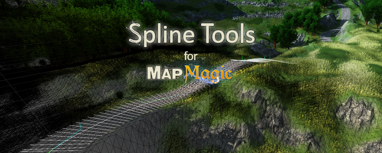 Spline Tools for MapMagic