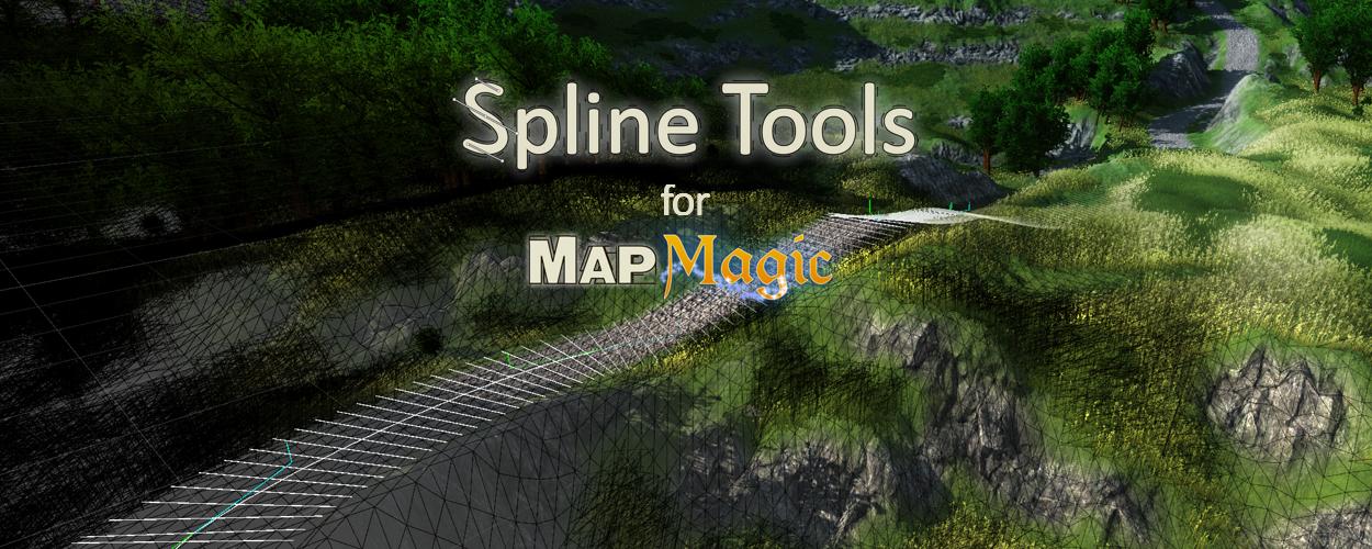 Spline Tools für MapMagic